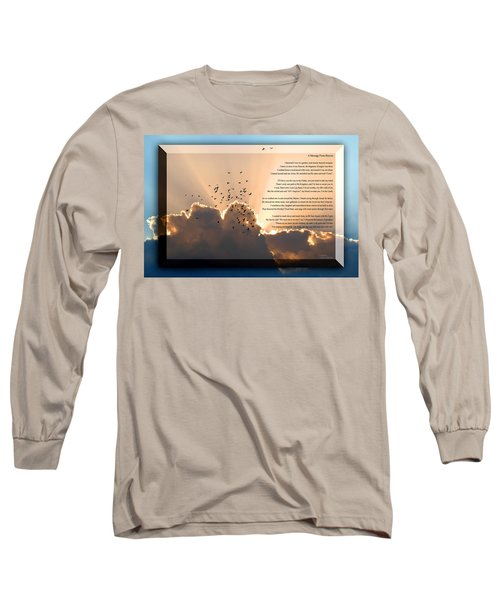Message From Heaven Long Sleeve T-Shirt