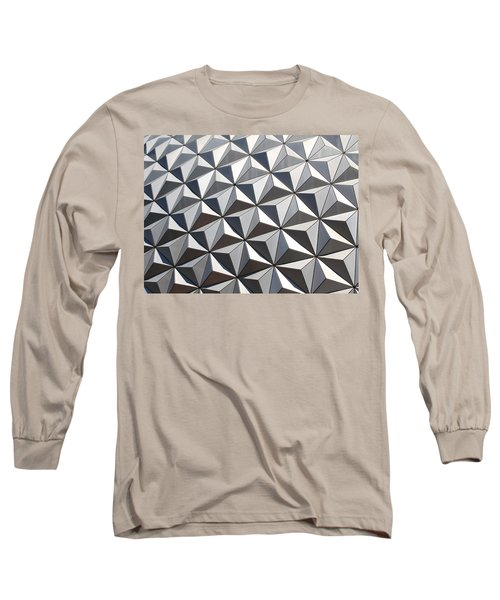 Long Sleeve T-Shirt featuring the photograph Metal Geode by Chris Thomas