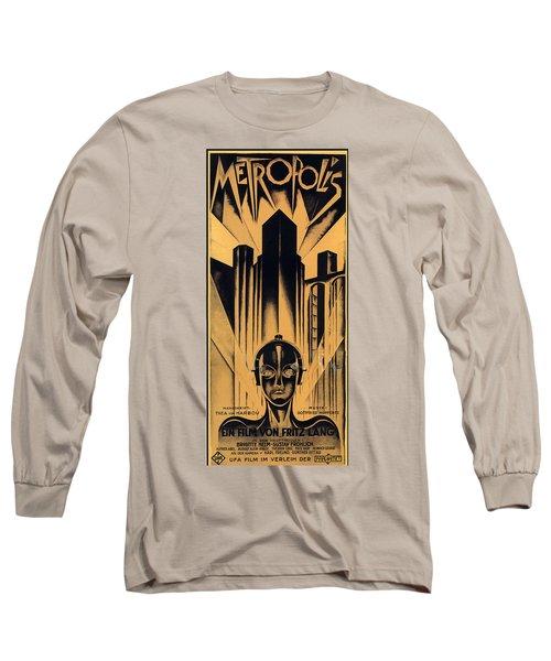 Metropolis Poster Long Sleeve T-Shirt