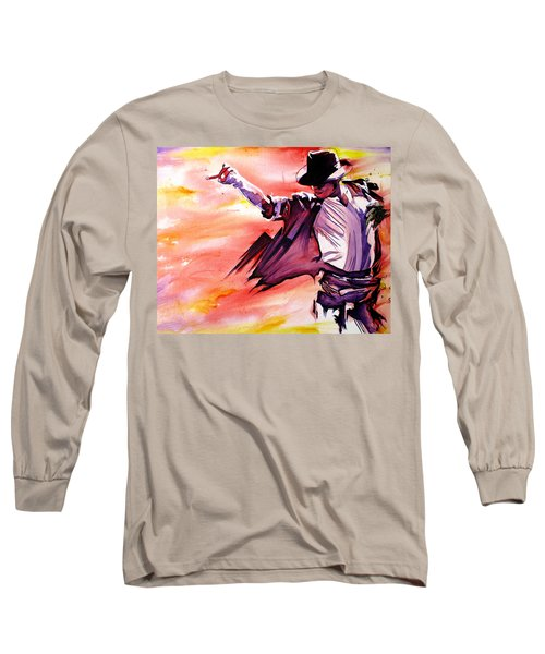 Michael Jackson-billie Jean Long Sleeve T-Shirt