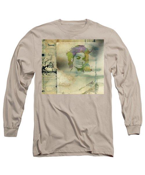 Michael Jackson Silhouette Long Sleeve T-Shirt