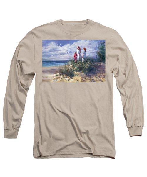 Michigan Shore Memories  Long Sleeve T-Shirt