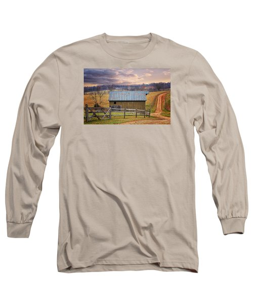Middleburg Virginia Countryside Long Sleeve T-Shirt