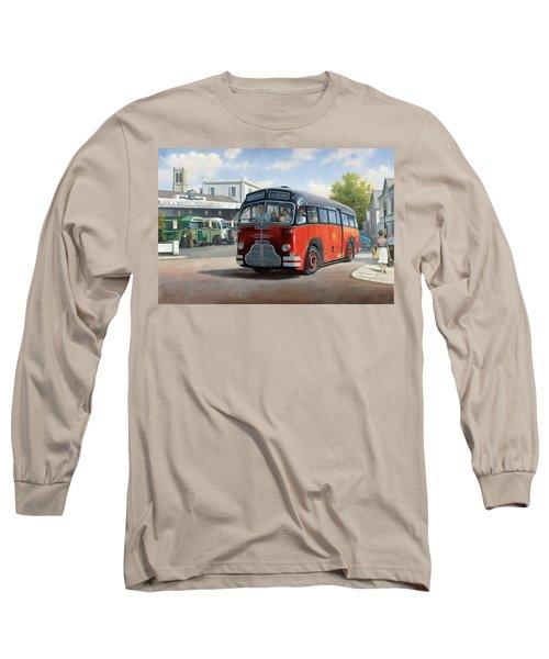 Midland Red C1 Coach. Long Sleeve T-Shirt