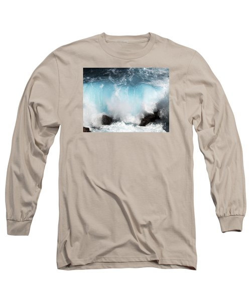 Might And Power Long Sleeve T-Shirt by Patricia Griffin Brett