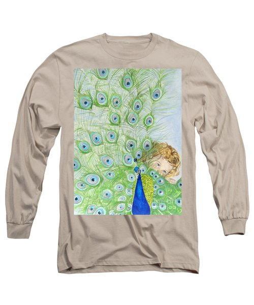 Mika And Peacock Long Sleeve T-Shirt