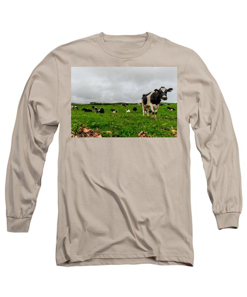 Milk Nature Nose Long Sleeve T-Shirt