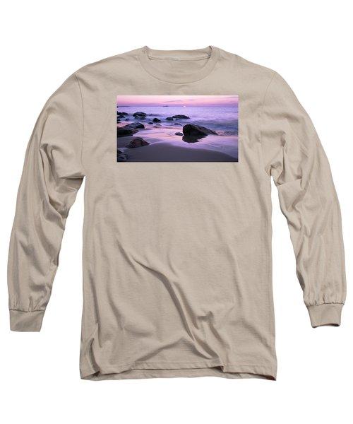 Millennium Sunrise Singing Beach Long Sleeve T-Shirt