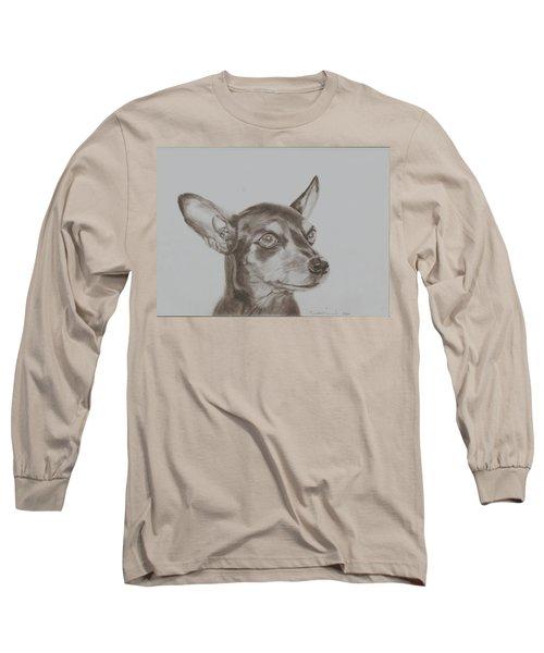 miniature pinscher Tronter Long Sleeve T-Shirt