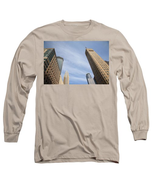 Minneapolis Skyline Long Sleeve T-Shirt