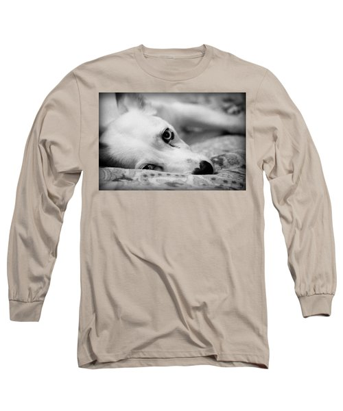 Long Sleeve T-Shirt featuring the photograph Miss Donut  by Faith Williams