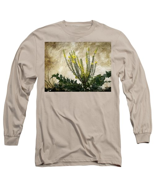 Long Sleeve T-Shirt featuring the photograph Mission Wallflower by Ellen Cotton