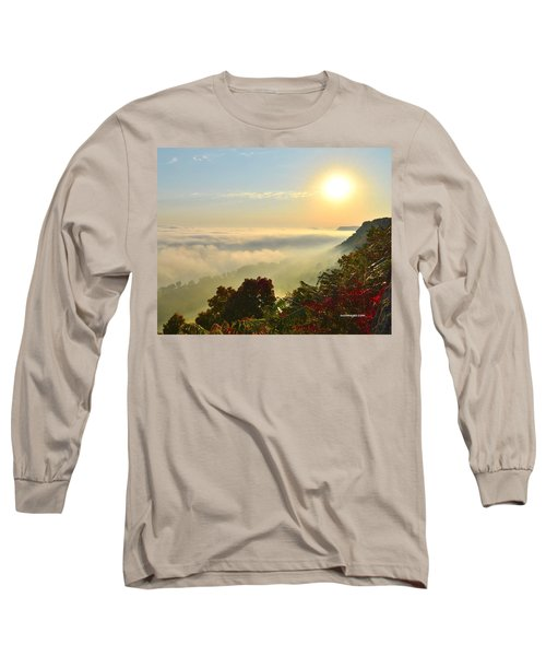Mississippi River Fog Long Sleeve T-Shirt