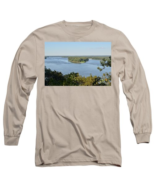 Mississippi River Overlook Long Sleeve T-Shirt