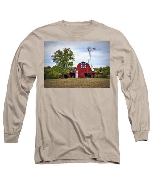 Missouri Star Quilt Barn Long Sleeve T-Shirt