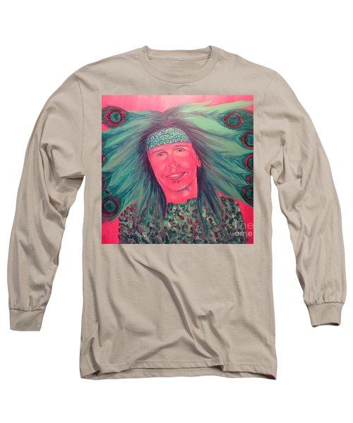 Mister Peacock Long Sleeve T-Shirt