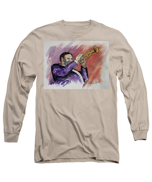 Mister Too Many Notes Long Sleeve T-Shirt by Frank Hunter