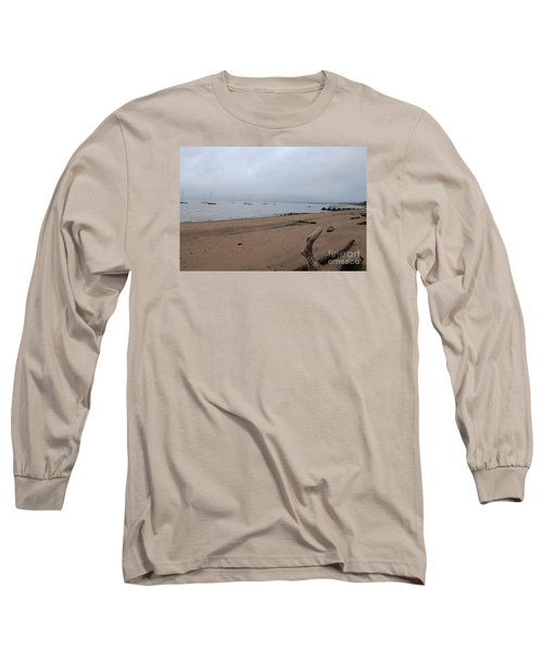 Misty Harbor Long Sleeve T-Shirt by David Jackson