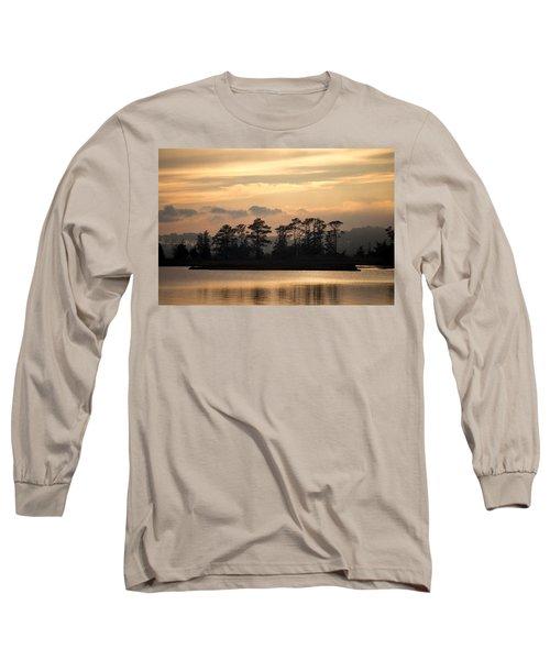 Misty Island Of Assawoman Bay Long Sleeve T-Shirt