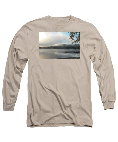 Misty Railway Bridge Long Sleeve T-Shirt