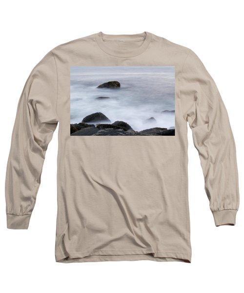 Misty Rocks Long Sleeve T-Shirt