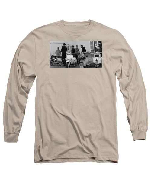 Mods And Suits Long Sleeve T-Shirt