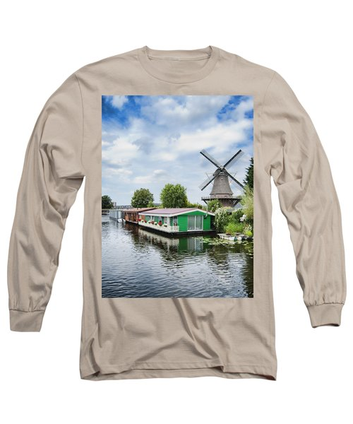 Molen Van Sloten And River Long Sleeve T-Shirt