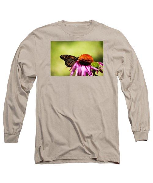 Monarch Glow Long Sleeve T-Shirt by Shelly Gunderson