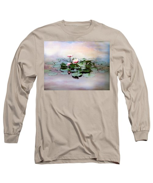 Monet Lilies  Long Sleeve T-Shirt