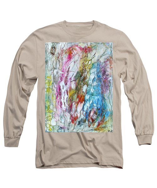 Monet's Garden Long Sleeve T-Shirt