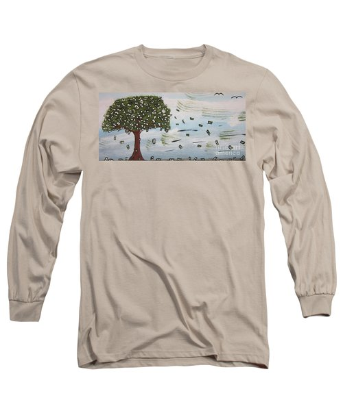 The Money Tree Long Sleeve T-Shirt