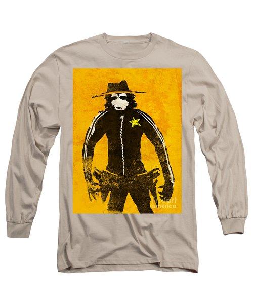 Monkey Sheriff Long Sleeve T-Shirt