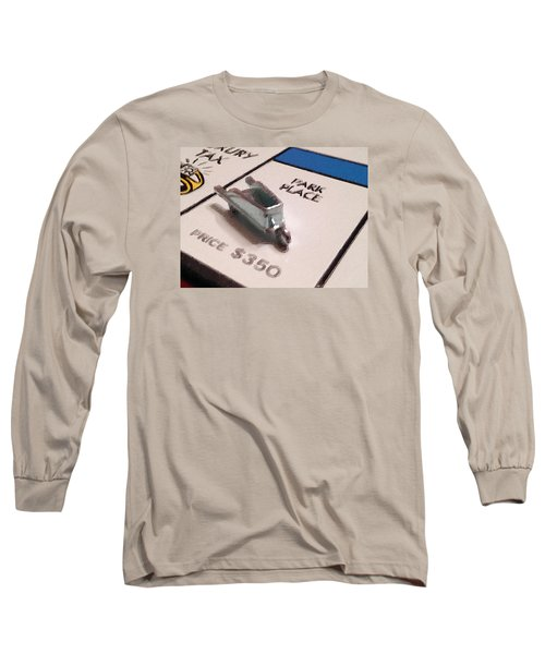 Monopoly Board Custom Painting Park Place Long Sleeve T-Shirt