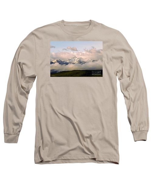 Montana Mountain Long Sleeve T-Shirt by Joseph J Stevens