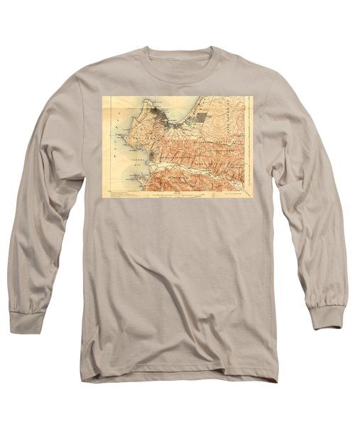 Monterey And Carmel Valley  Monterey Peninsula California  1912 Long Sleeve T-Shirt