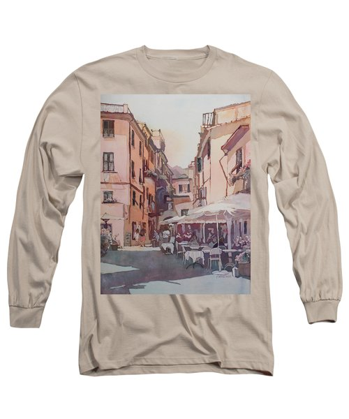 Monterosso Cafe Long Sleeve T-Shirt