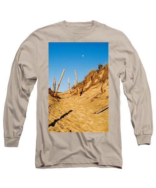 Moon And Dunes Long Sleeve T-Shirt