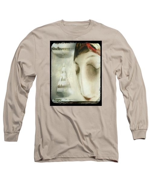 Moon Face Long Sleeve T-Shirt