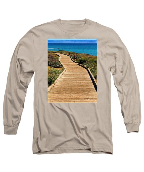 Moonstone Beach Park By Diana Sainz Long Sleeve T-Shirt
