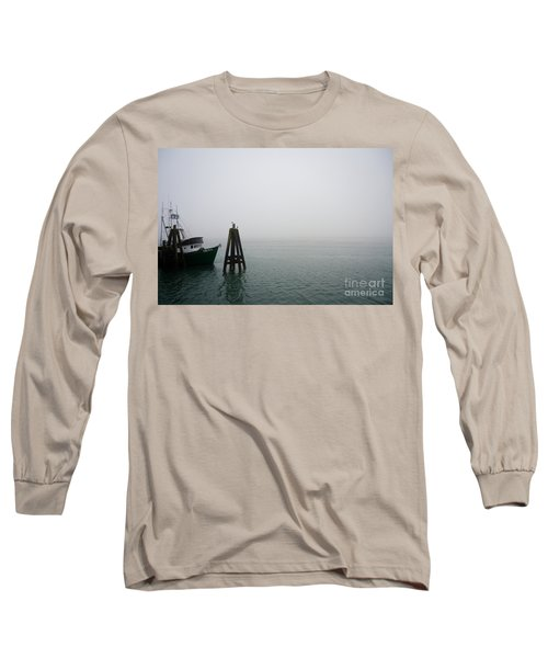 Moored Long Sleeve T-Shirt by CML Brown