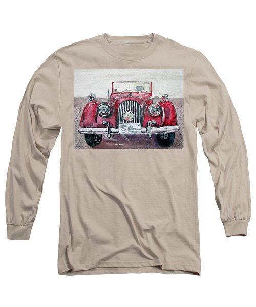 Long Sleeve T-Shirt featuring the painting Morgan by Anna Ruzsan