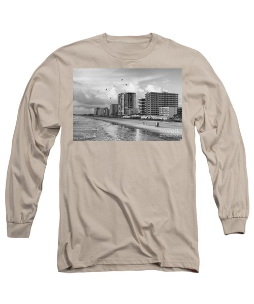 Morning At Daytona Beach Long Sleeve T-Shirt