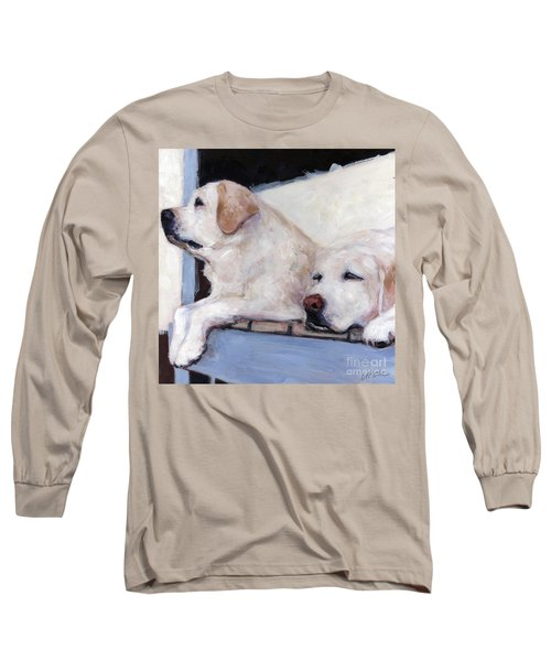 Morning Glory Long Sleeve T-Shirt by Molly Poole