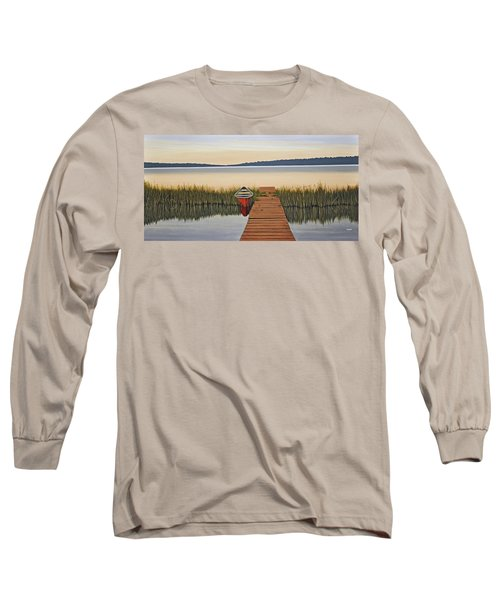 Long Sleeve T-Shirt featuring the painting Morning Has Broken by Kenneth M  Kirsch