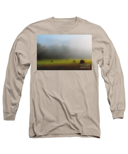 Morning In The Cove Long Sleeve T-Shirt by Douglas Stucky