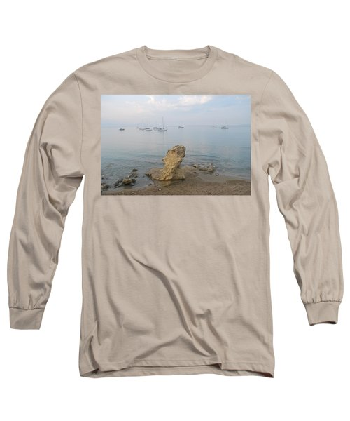 Long Sleeve T-Shirt featuring the photograph Morning Mist 2 by George Katechis