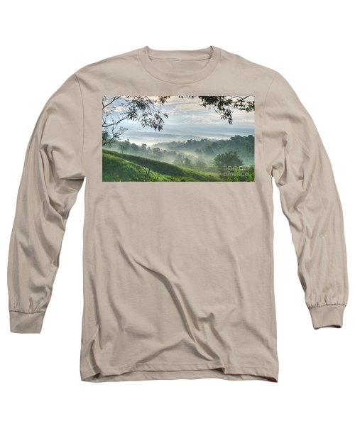 Morning Mist Long Sleeve T-Shirt by Heiko Koehrer-Wagner