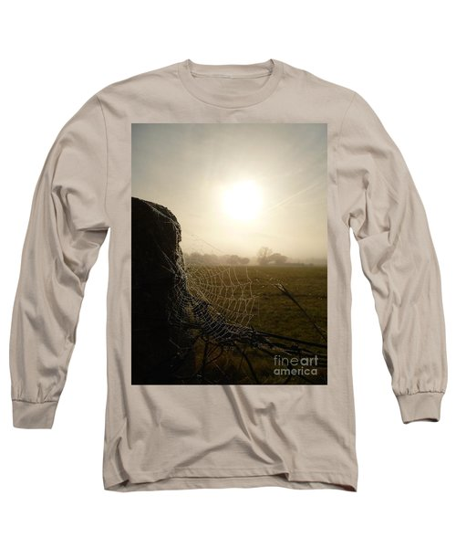 Morning Mist Long Sleeve T-Shirt by Vicki Spindler