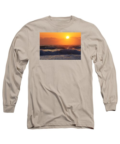 Morning On The Beach Long Sleeve T-Shirt by Bruce Bley