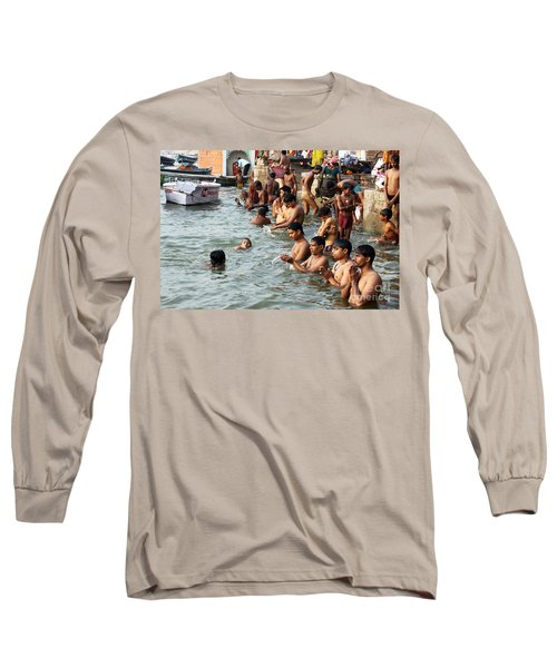 Morning Prayers And Ablutions Long Sleeve T-Shirt